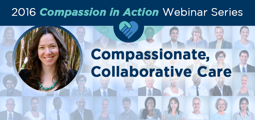 """October 4 - """"Sustainable Compassion for Health Professionals"""""""