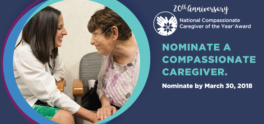 2018 National Compassionate Caregiver of the Year Award