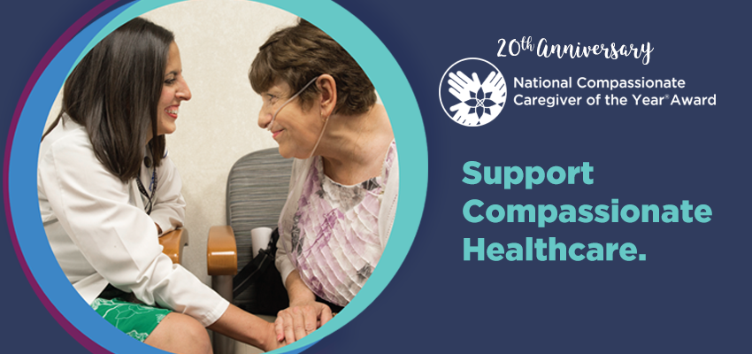 National Compassionate Caregiver Award 2018