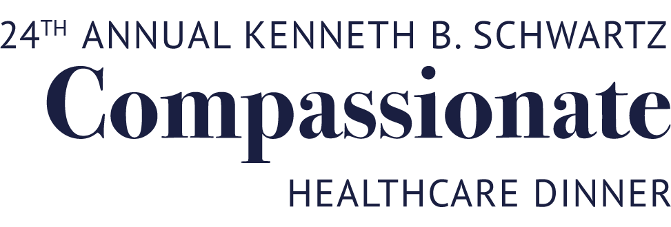 24th annual kenneth b. schwartz Compassionate healthcare dinner